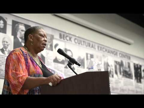 Joanne Bland speaks Voting Rights Act anniversary