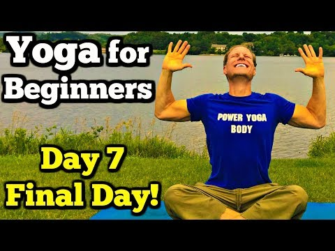 Day 7 - 35 Min Beginner Yoga Flow - 7 Day Beginner Yoga Challenge #7dayyogachallenge