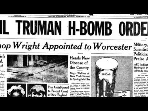 Today in History: Truman Announce H-Bomb
