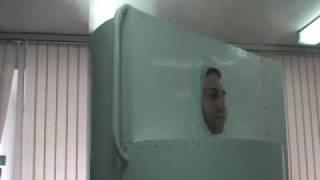 замораживание живого человека  Криосауна
