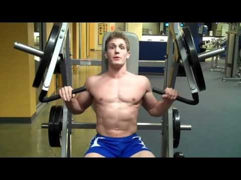 How To: Incline Chest Press (Hammer Strength)