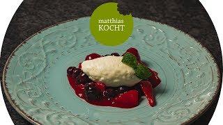 Leichte Joghurtmousse - gelingsicher und schnell - mit der KitchenAid