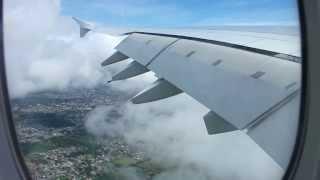 Hard landing in Mauritius (Emirates A380-800)
