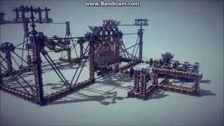 Besiege Alpha - Unnecessarily Complex Catapult 2