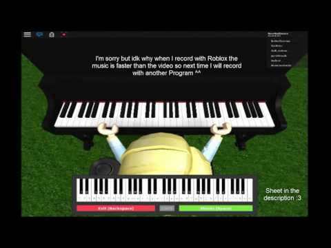 Roblox Piano Tutorial Unravel Tokyo Ghoul Sheet Easy