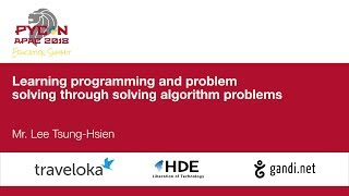 Learning programming and problem solving through solving algorithm problems - Education Summit 2018
