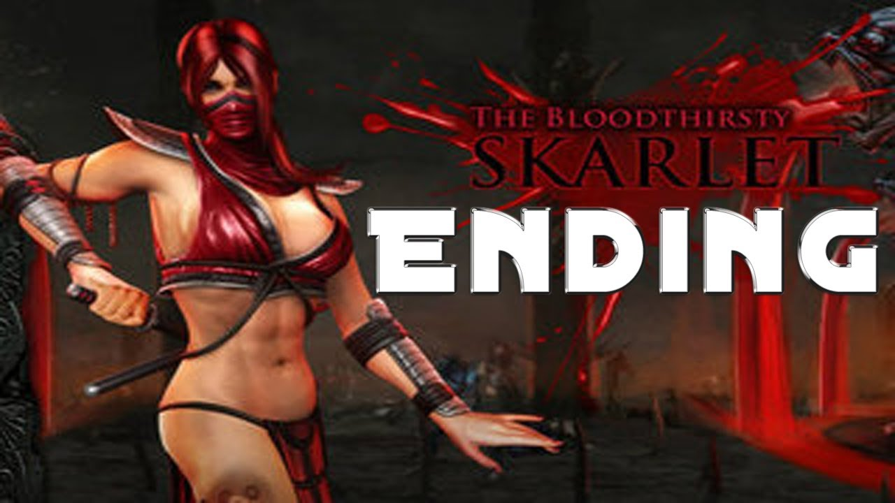Mortal Kombat Skarlet Story Ending Youtube