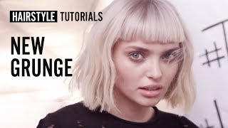 How to style new grunge? by Anh Co Tran | L'Oréal Professionnel tutorials