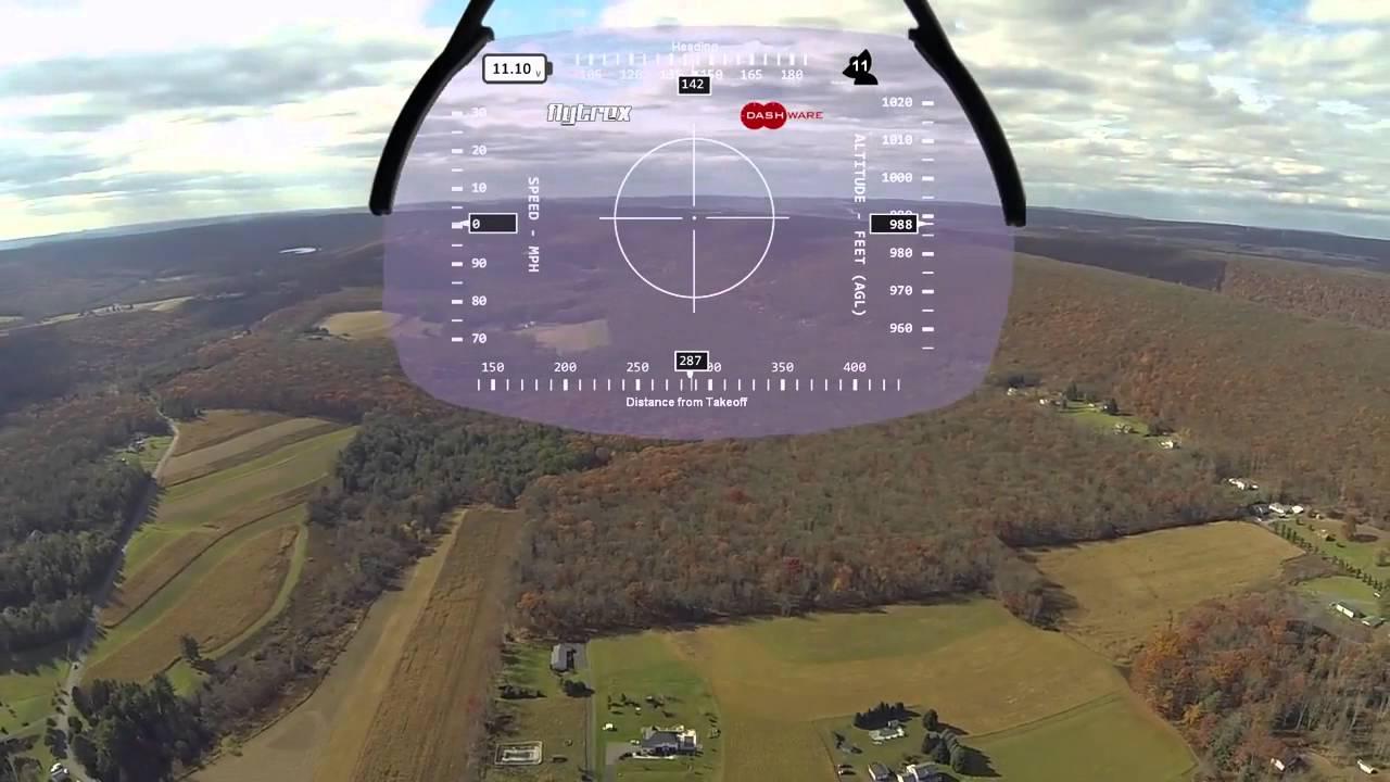 HUD4 Gauge for Flytrex and Dashware