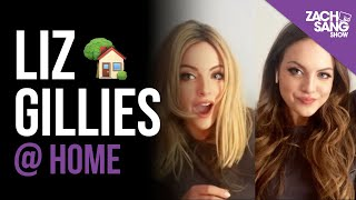 Liz Gillies @ Home Interview YouTube Videos