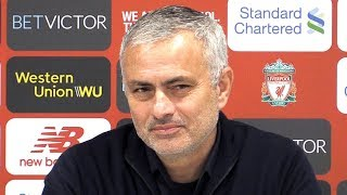 Jose Mourinho's Final Press Conference As Manchester United Manager After Liverpool Defeat