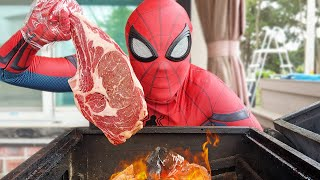 Spider Man's Morning Routines In Real Life
