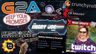 AJS News- G2As Promise, Twitch Council has NO Power?, Serious Sam Stadia Exclusive, CDProjektRed #1!