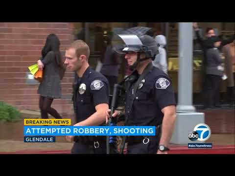 Attempted robbery, shots fired causes scare at Glendale Galleria | ABC7 streaming vf