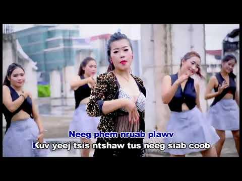 Xia xiong-nraug hmoob siab txaij (karaoke) 2018