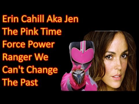 Erin Cahill Aka Jen The Pink Time Force Power Ranger We Can't Change The Past Motivational Speech