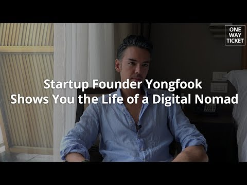 [ONE WAY TICKET Preview] Startup Founder Yongfook Shows You the Life of a Digital Nomad