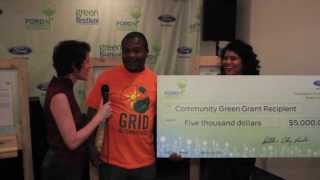 The Ford Pavilion and Ford Community Green Grant at Los Angeles Green Festival 2013