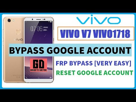 How To Bypass Frp Vivo 1718