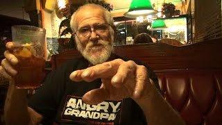GRANDPA GOES OUT TO DINNER!