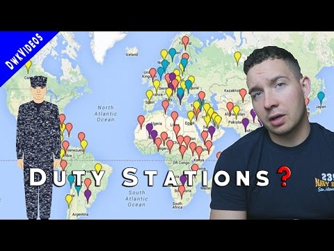 How To Pick Orders & Duty Stations in the NAVY