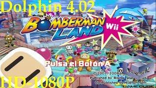Bomberman Land [Nintendo Wii] [Español] Dolphin 4.02 [1080p HD]