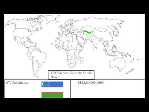Real 100 Richest Country in the world (2016)