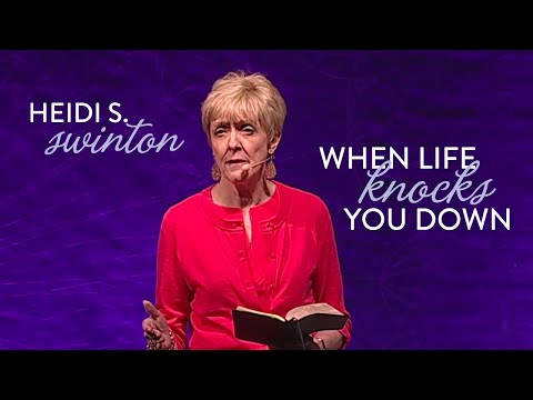 HEIDI S. SWINTON: When Life Knocks You Down