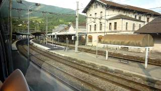 TGV Bellegarde-sur-Valserine ベルガルド シュル ヴァルスリーヌ