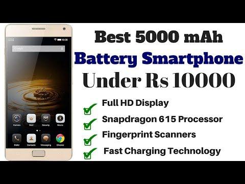 Best 5000 mAh Battery Smartphones Under Rs 10,000 In 2018
