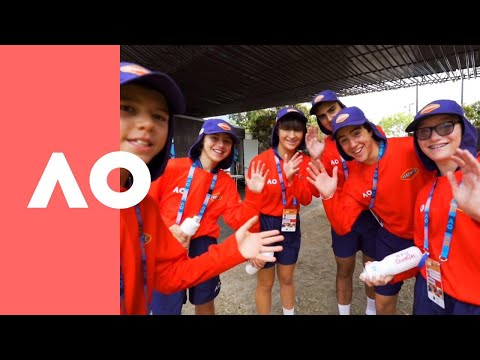 Behind the scenes look at the AO Ballkids | Australian Open 2019