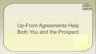 C.A.R.S. Topic 13:    UFAs:  Up-Front Agreements