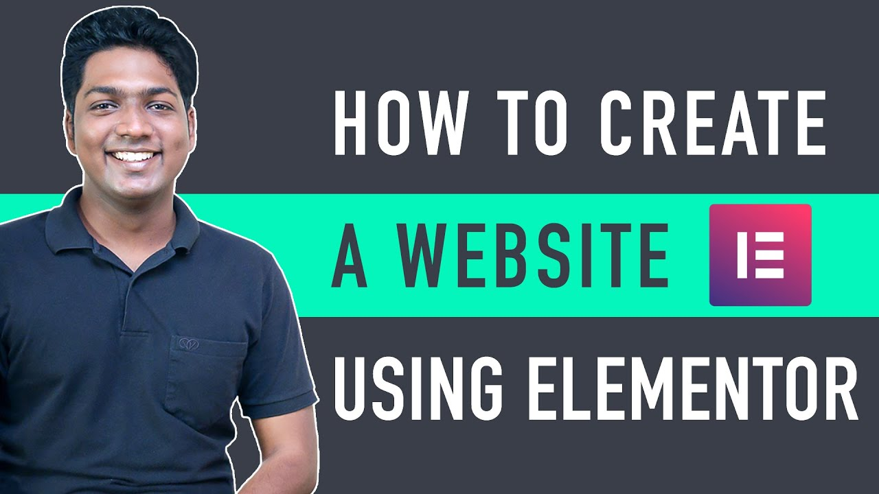 How To Create A Website Using Elementor