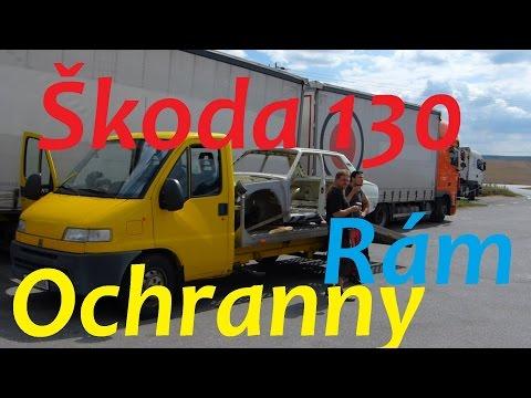 Škoda 130 - Ochranný Rám - Grabiec Martin :) BEZ KOMPRESE (: rally