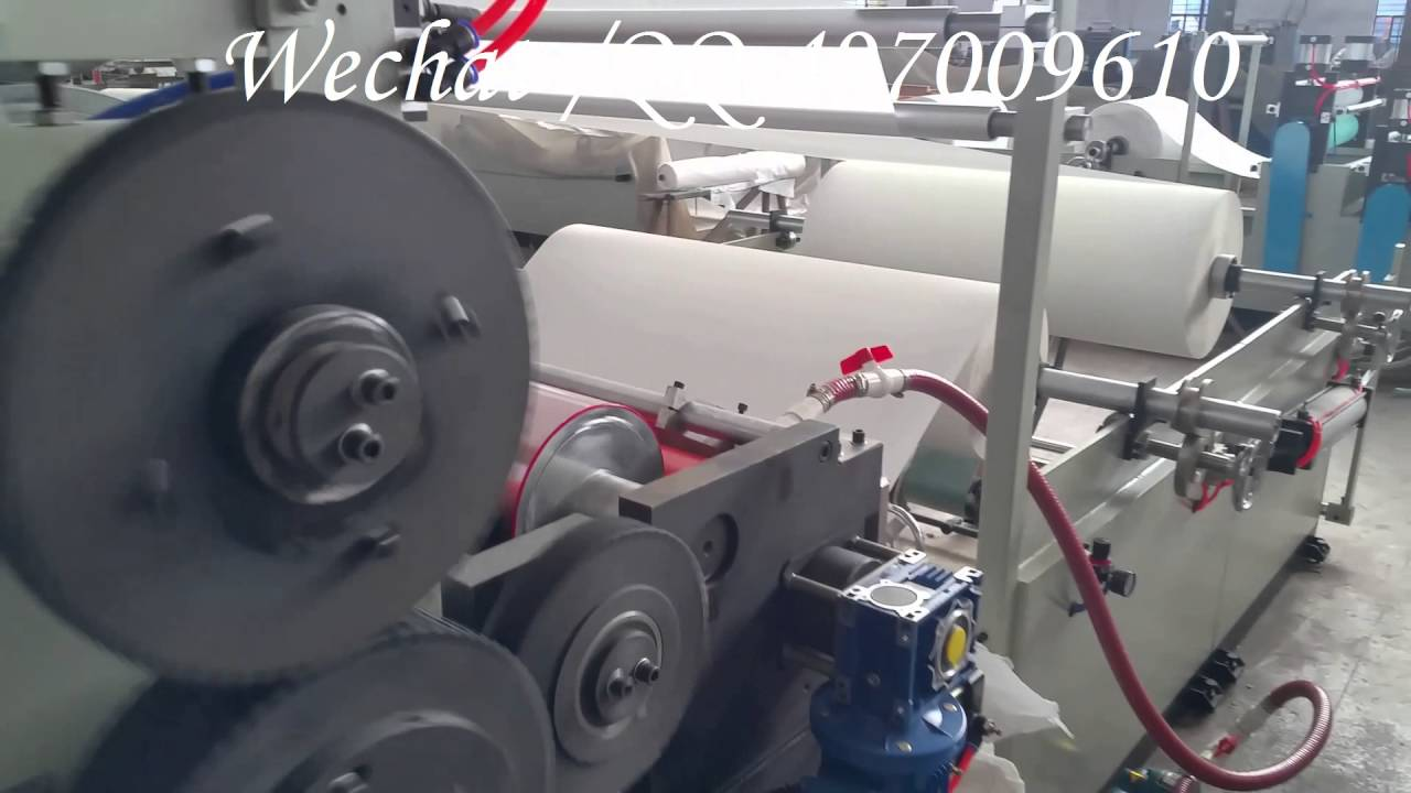 Papercraft Automatic  Colored Glue lamination Rewinding Machine