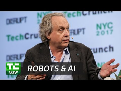 Rodney Brooks Talks Robots and the AI Bubble (full panel) | Disrupt NY 2017