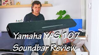 Yamaha yas 107 soundbar review - DTS Virtual x - sound test - 2018