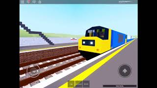 A busy day on Trains (ROBLOX)