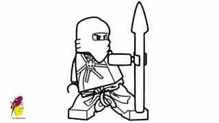 Jay Ninjago - How to draw Ninjago