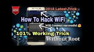 How To Hack Wifi Password 2018 ||100% Working|| LIVE Hack WiFi