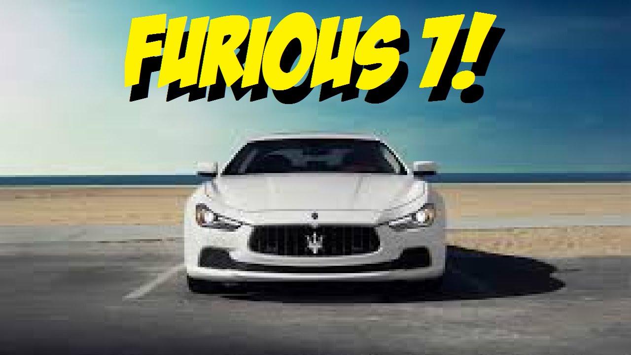Forza Horizon 2 Furious 7 DLC - UNLOCKING THE MASERATI GHIBLI S! (FH2 Furious 7 DLC Gameplay)
