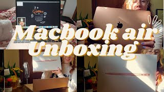 Macbook Air 2020 Unboxing + Customization