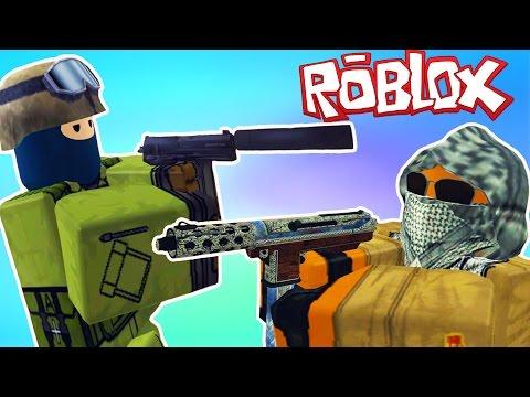 Counter Strike в Roblox!!! Приключение мульт героя Роблокс на карте Counter-Blox: Roblox Offensive