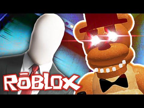 Roblox - Normal Elevator - SLENDERMAN AND FREDDY FAZBEAR??
