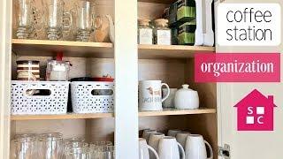 My Organized Coffee Station