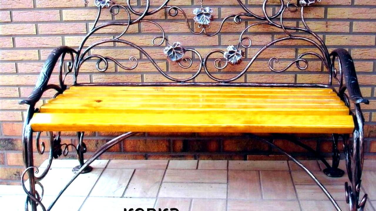 Садовая Мебель из бревна своими руками - YouTube