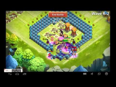 Castle Clash: TH18 Bases + HBM R