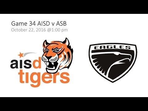 Game 34 AISD v ASB  - SAISA Girls' Volleyball 2016