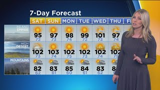 Evelyn Taft's Weather Forecast (Aug. 17)