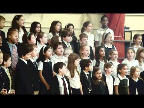 American game song medley - Town school, November 24, 2010